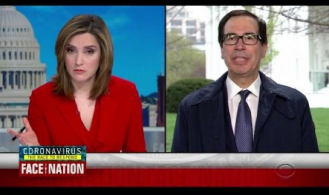 Steve Mnuchin: Americans Can Live On $120/Week During Pandemic
