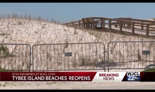Georgia Reopens Popular Beaches, By Executive Order