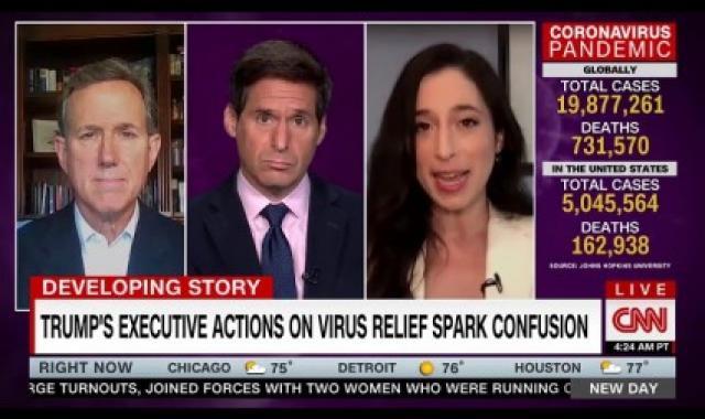 Rick Santorum Blames Obama For Trump's Executive Actions