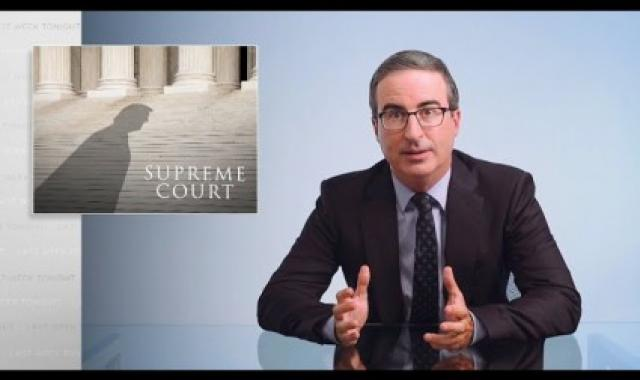 John Oliver Says To Mitt Romney, 'Since When Is This Nation Naturally Center-Right?'