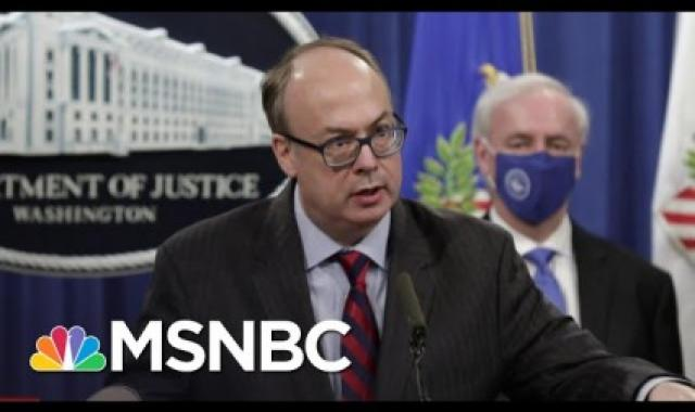 Trump And Acting DOJ Lawyer Plotted To Oust Acting AG, Insert A Stooge And Block Electoral Count