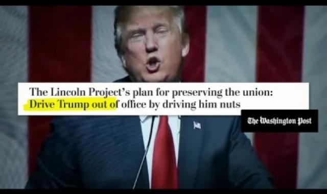 Lincoln Project Ready For Rematch With 'Loser' Trump