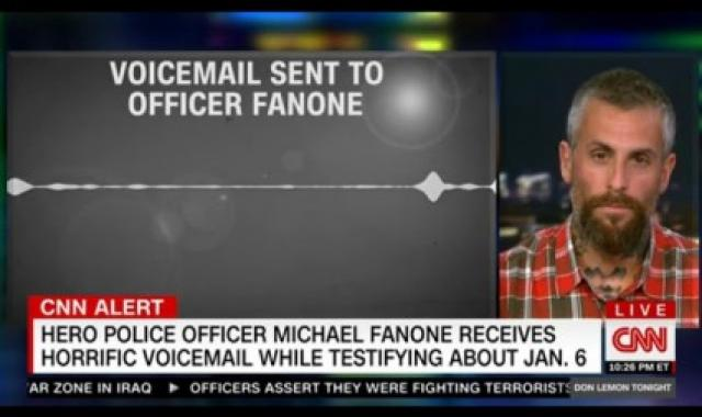 Threatening Voicemail Sent To Officer Fanone As He Testified