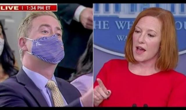 Jen Psaki Exposes Peter Doocy's Fake Outrage With One Simple Question