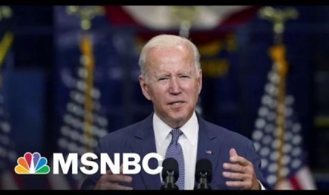 Biden Meets With House Dems, Asks Support For New Bill Framework