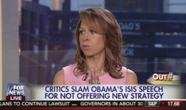 Fox News' Stacey Dash Gets Censored On TV:  (Obama) Could 'Give A Shit' About Terrorism