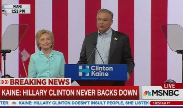 Sen. Tim Kaine Bashes Donald Trump Over Refusing To Release Tax Returns