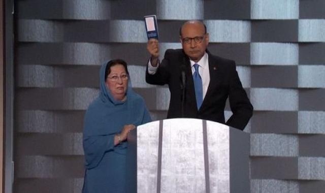 Fox News Doesn't Air Khizr Khan's Powerful Anti-Trump Speech