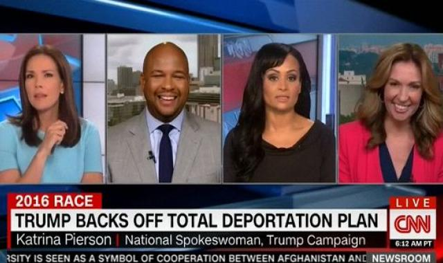 CNN Panel Bursts Out Laughing At Katrina Pierson, Again