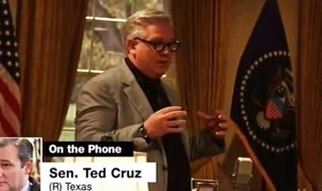 Glenn Beck Freaks Out After Ted Cruz Interview: 'Cover Me In A Bucket Of Blood!'