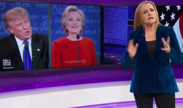 Samantha Bee Analyzes 2016's First Presidential Debate And It's Hilarious