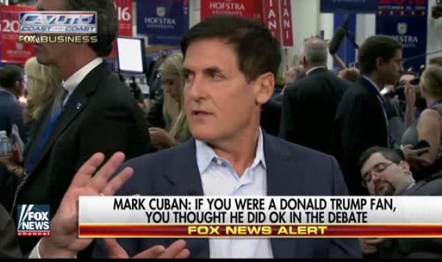 Watch Mark Cuban Rip Donald Trump