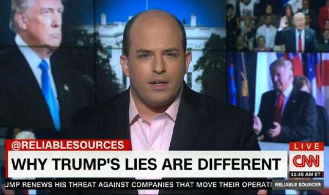 Reliable Sources' Brian Stelter Counsels Media On How To Cover Trump's Lies