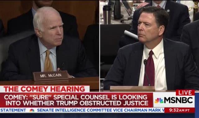 Watch John McCain Try To Tie Hillary Clinton To Russian Hacking