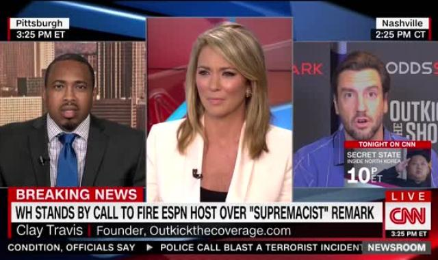 Fox Sports Host Tossed Off CNN After Saying He Believes In 'First Amendment And Boobs' (UPDATED)