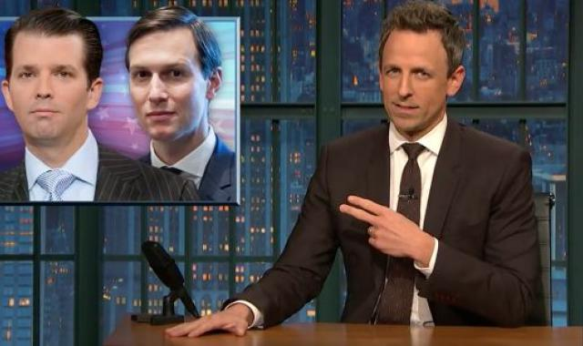 Seth Meyers On Jeff Sessions: 'His Standup Special Is Called 'I Don't Recall' '