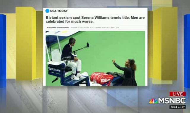 'Marred By A Man's Choice. Every Day In America': Zerlina Maxwell On Serena Williams' US Open Finals