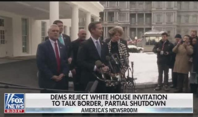 Republicans Whine After Failure To Lure Moderate Dems Into Paying For The Wall