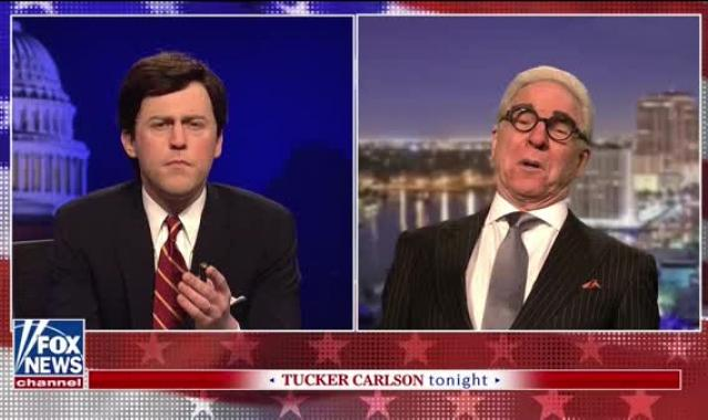 SNL Cold Open: Roger Stone Pleads His Innocence On Tucker Carlson's Show