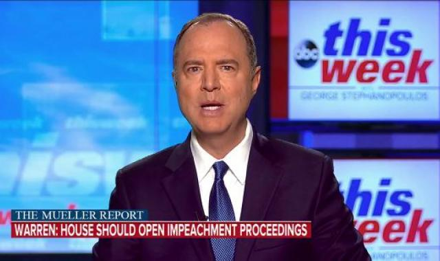 Adam Schiff Makes It Clear That Impeachment Is Definitely On The Table