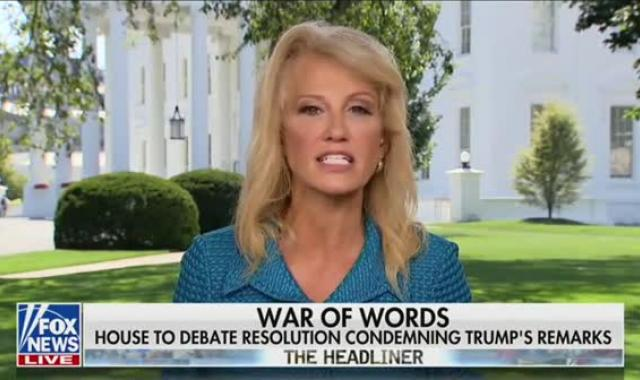 Kellyanne Hisses At Fox For Asking About Husband's 'Trump Is Racist' Column