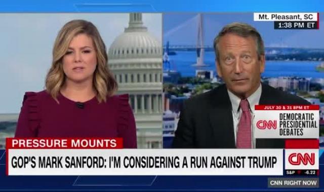Mark Sanford 'Considering' Primary Challenge To Trump