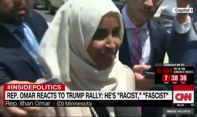 Ilhan Omar Calls A Fascist A Fascist