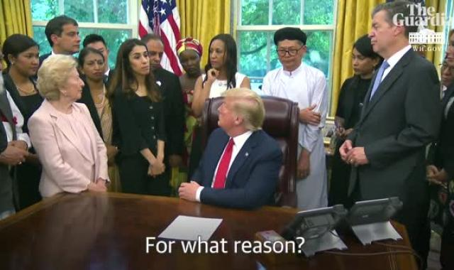 Stable Genius Shows Off Ignorance, Memory Issues, In Oval Office