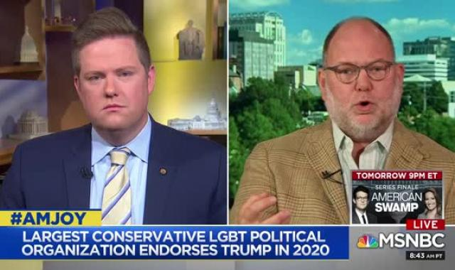 Jimmy Williams Is NOT Having It With Log Cabin Republicans Endorsing Trump