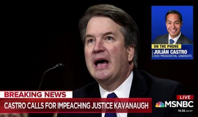 Julián Castro And Kamala Harris Call For Brett Kavanaugh's Impeachment