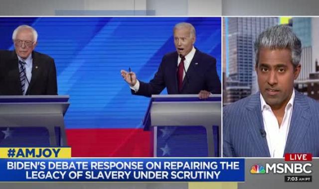 AM Joy Guest: Joe Biden's Attitudes On Race Will Neutralize Trump's Racism