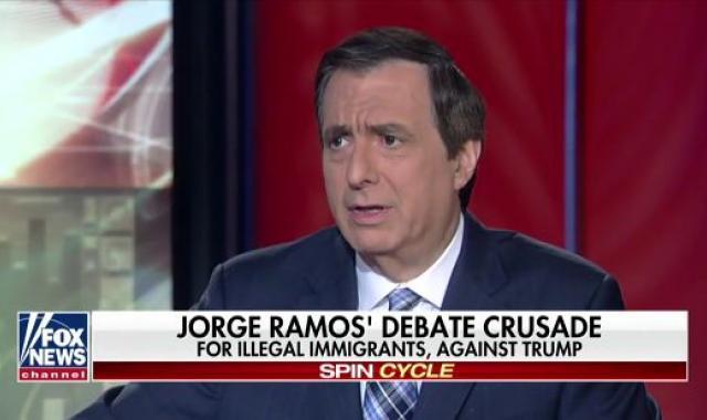 Howie Kurtz Whines About Jorge Ramos 'Bias' During Debate