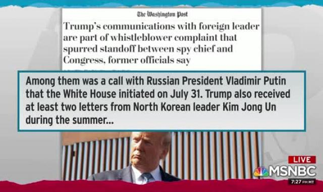 BOMBSHELL: Whistleblower Complaint Concerns Promise Trump Made To Foreign Leader