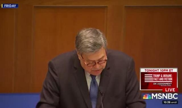 AG Bill Barr Crossed Out The Line Separating Church And State In Notre Dame Speech