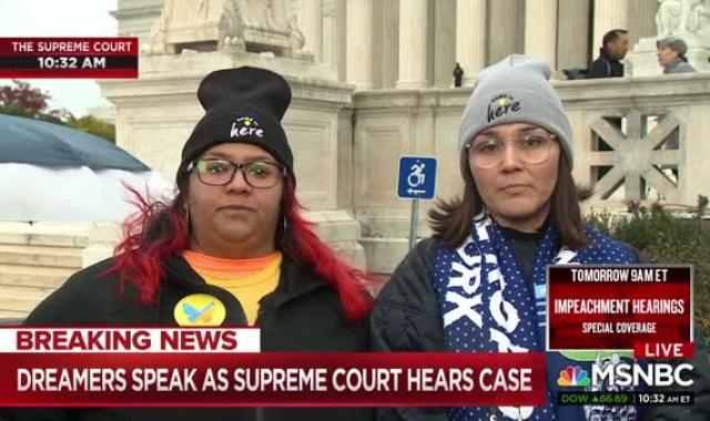 DACA Recipients To Supreme Court: 'Home Is Here'