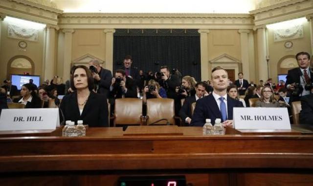 Fiona Hill And David Holmes Confirm: 'Burisma Was Code For Biden'