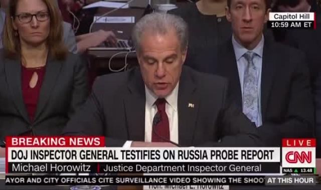 Inspector General Flattens Trump's Argument: FBI Was Justified, Apolitical