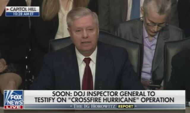 Lindsey Graham (Of All People) Destroys Trump's Russia Hoax Narrative