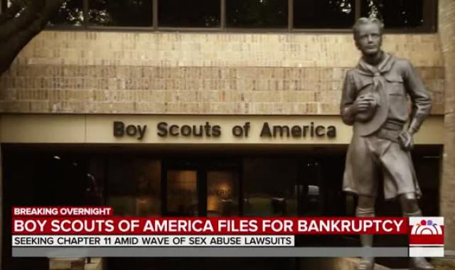 Boy Scouts Of America Files For Bankruptcy Amid Sex Abuse Scandal