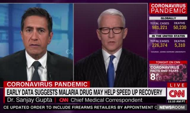Dr. Sanjay Gupta Outraged About Gov. Kemp's 'Inexcusable' Ignorance About COVID-19