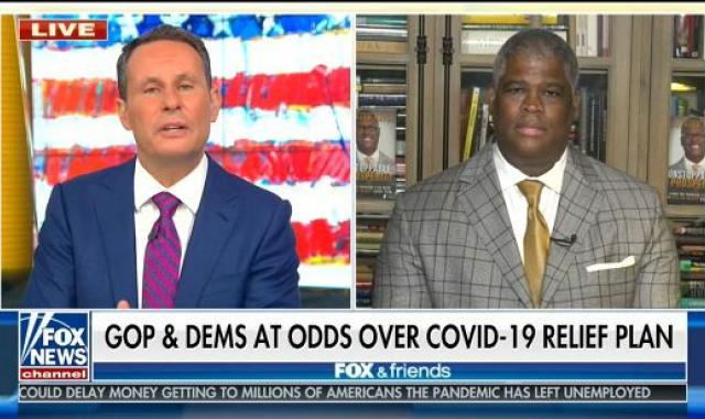 Brian Kilmeade Admits Republicans Are NEVER Going To Vote For More Covid Aid