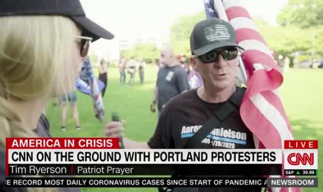 Patriot Prayer Member In Portland Vows To Use 'Violent Means' To 'Take Back' Cities