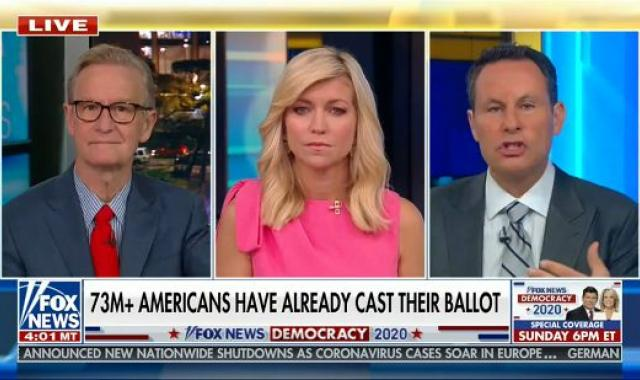 Brian Kilmeade Is Very Annoyed That SCOTUS Will Allow NC And PA To Count Ballots