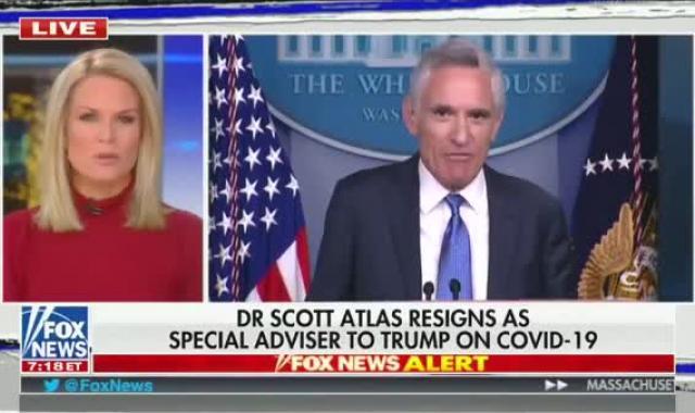 Dr. Death Scott Atlas, Head Of COVID White House Death Cult, Resigns