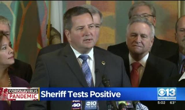 California Sheriff Tests Positive For COVID-19 After Refusing To Enforce State Restrictions