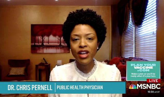 Dr. Pernell: 'Vaccines Don't Save Lives, VaccinATIONS Save Lives'
