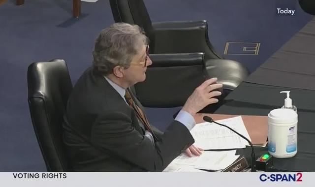 Sen. Kennedy Regrets Idiotic Voting Rights Question Now