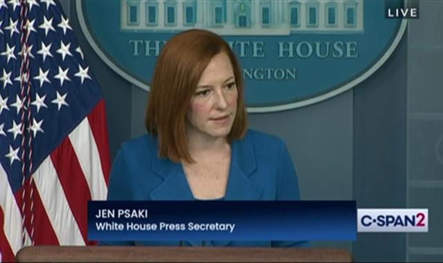 Jen Psaki Bombs Peter Doocy For Absurd Unemployment Claim