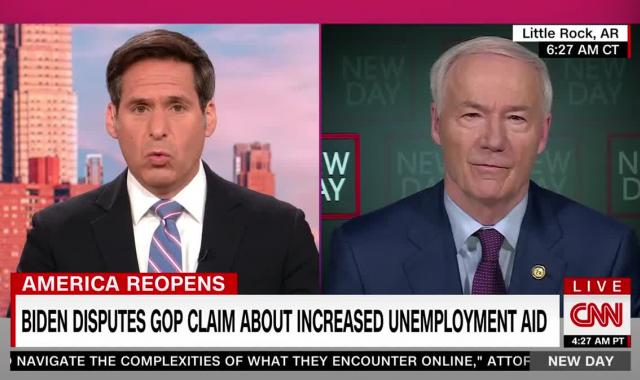 Asa Hutchinson Explains Why He Has To Force These Lazy People Back To Work