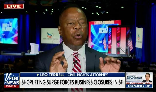 Fox News' Leo Terrell Blames George Floyd For Brazen Shoplifters